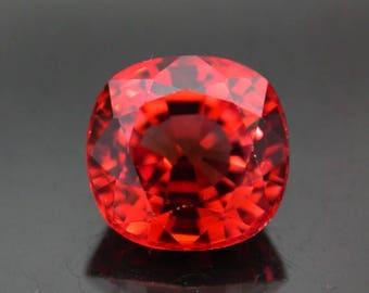 4.62 ctw. golden sapphire loose gemstone.