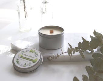 Soy Wax Scented Travel Tin Candle