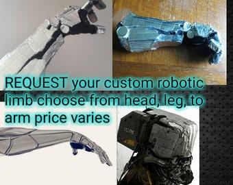 BIONIC limb, robotics, robots, robotic augmentation,  robot cosplay, BIONIC cosplay, cyborg, cyborg cosplay,prosthetics