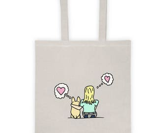 It's you and me prembroke blonde Tote bag