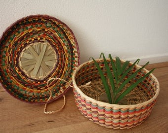 Mexican Woven Basket