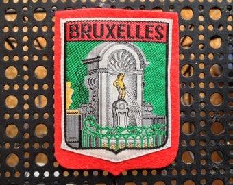 Vintage Ski Patch Bruxelles