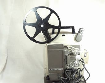 Vintage BELL & HOWELL 346A Autoload Super 8 Movie Projector 8mm Reel