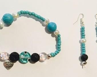 Turquoise Diffuser Set