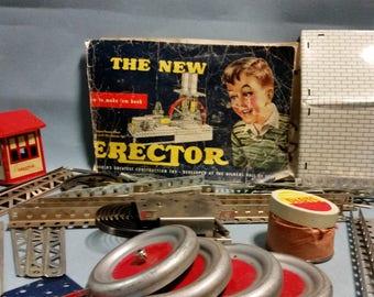 Vintage Erector Set by Gilbert