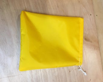 "Little Bitty Ditty Bag - Yellow, Blue or Red 9"" x 11"""
