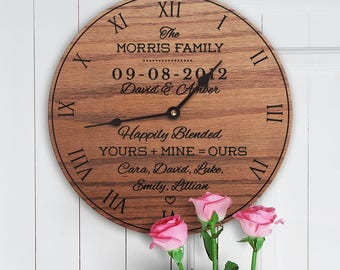 Personalized Wedding Gift For Blended Family - Wedding Gift For Second Marriage - Remarried - Wedding Gift For Step Parent - Blended Family