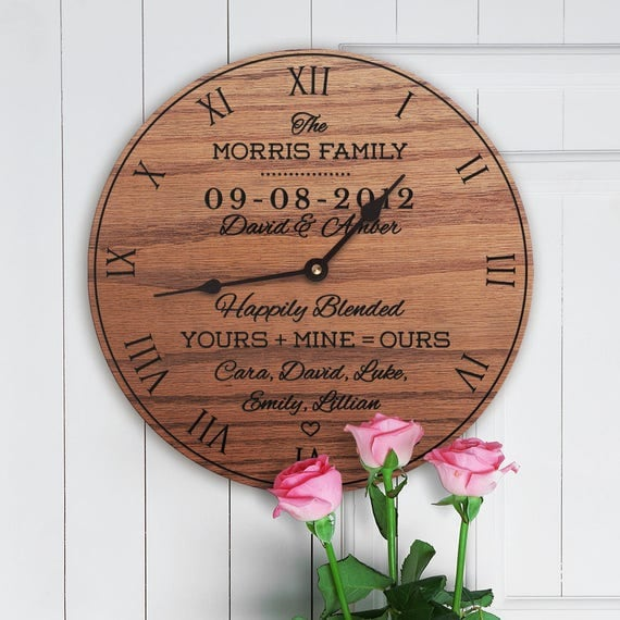 Wedding blended family gifts