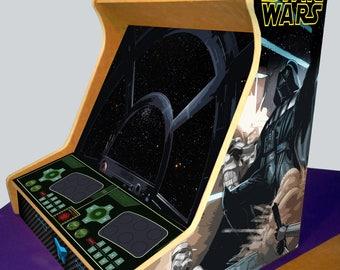 """Bartop Arcade Furniture 19 """"-Kit DM + vinyls-TALENTEC"""