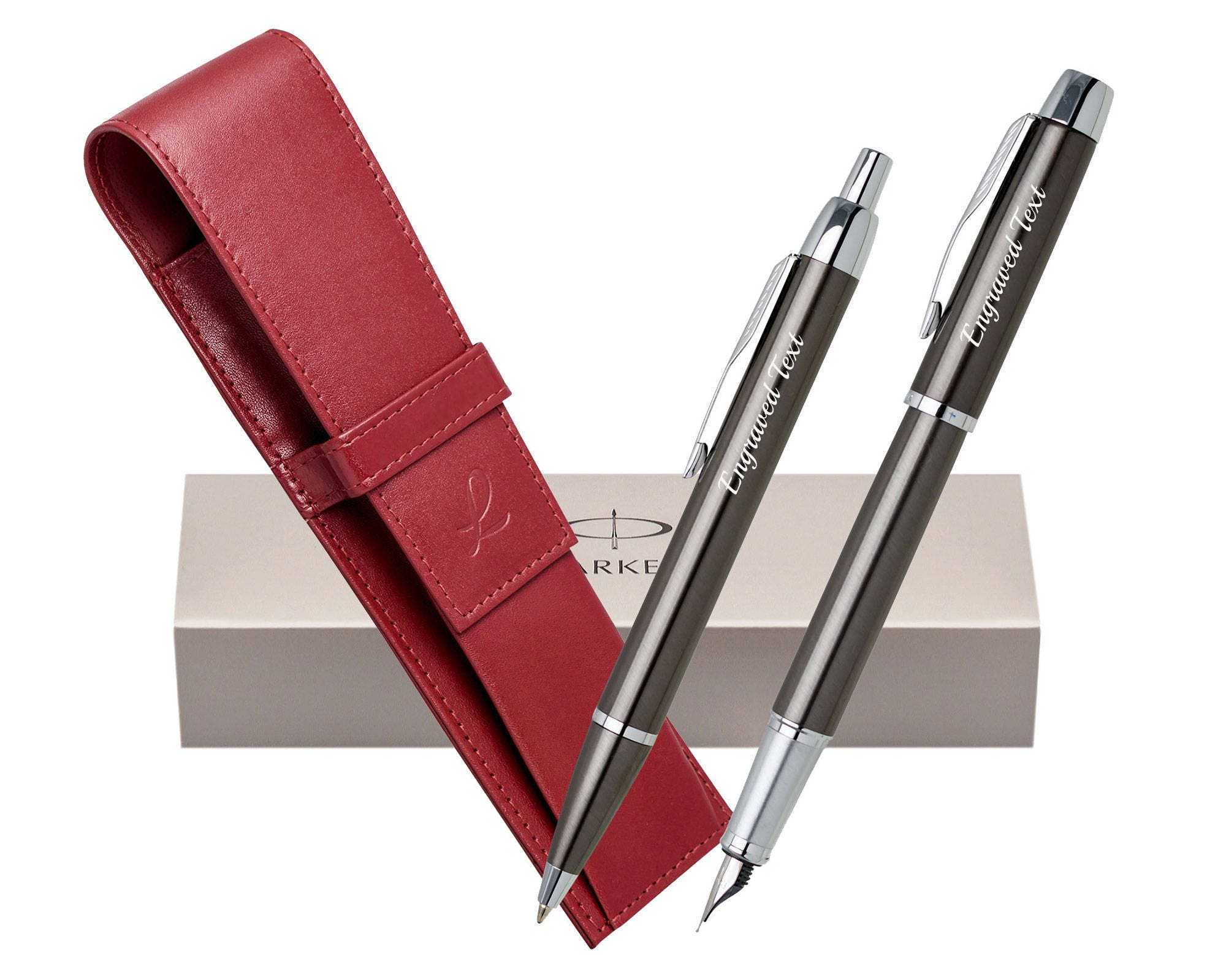 personalized gifts london parker set ballpoint pen fountain pen