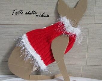 Christmas for little Sphynx cat sweater