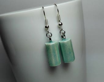 Lacquered Wood Earrings