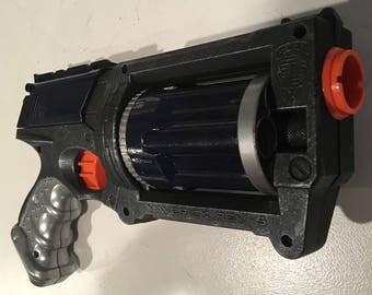 Steely Maverick Nerf Gun