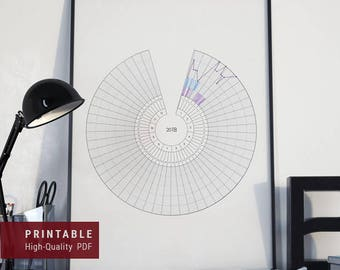 2018 Full-Year Wheel Tracker PRINTABLE