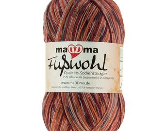 Sockwool maDDma foot well, 75% wool, free choice of color (color: dry flower)