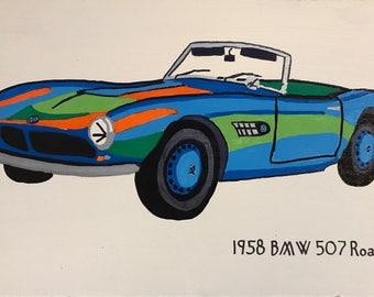 1958 BMW 507 Roadster