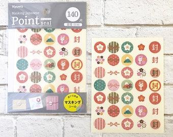 point sticker masking japakese