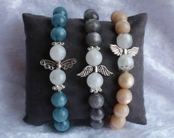 Radiant ladies bracelets from Polariperlen with Angel