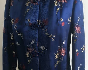 Vintage Chinese Smoking Jacket