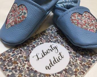 Liberty heart slippers