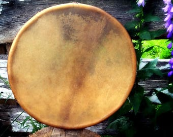 "14"" Elk hide frame drum"