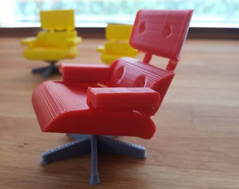 3D Printed Eames Lounge Chair
