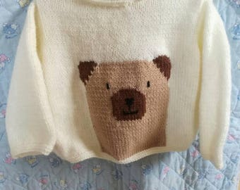 Wool Teddy bear sweater