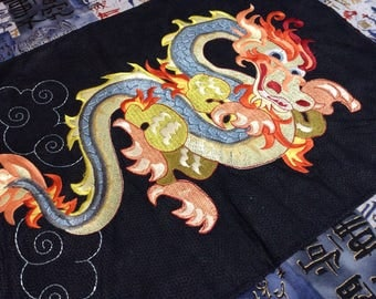 Art Quilt Dragon