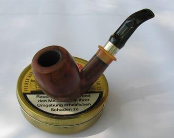 Barolo 82, Estate smoking pipe , silver 925  ring