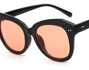 Orange-ya glad to see me Sunglasses