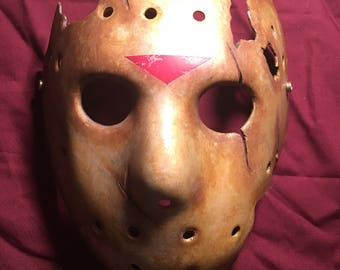 Jason Goes to Hell (1993) hockey mask replica.