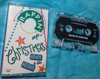 Rappin Up Christmas - Homeys 4 The Holidays audio cassette tape