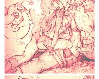 Velthaneus Pencil Print 011