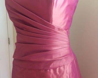 AMSALE Strapless Bridesmaid Dress/Party Dress