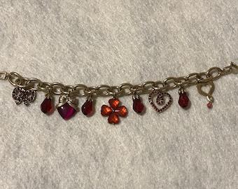 Beautiful Liz Claiborne Charm Bracelet