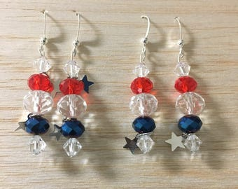 Fourth of July Earrings Part VI