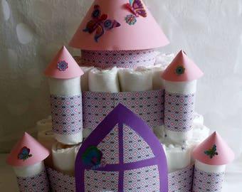 Winteltorte * Castle * gift to to the birth/christening/birthday/baby shower