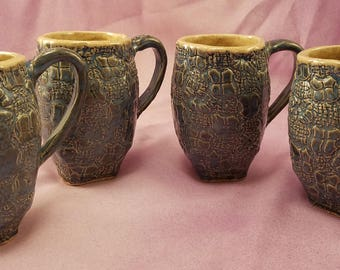 Ceramic mug, pottery mug, ceramic coffee mug, ceramic cup