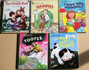 Little Golden Books Classics Set of 5