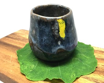 Midnight Cup, Handmade Ceramic Mug