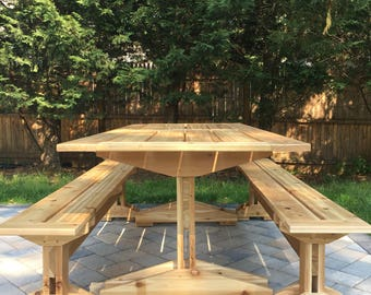 Patio Set- Cedar