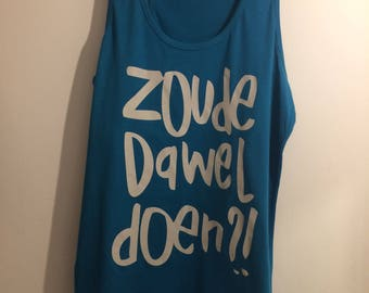 woman XL Apple blue zoudedaweldoen