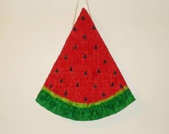 watermelon pinata. large pinata.