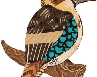 Kookaburra Sticker