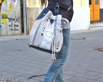 Match bag, draw string, SAILING