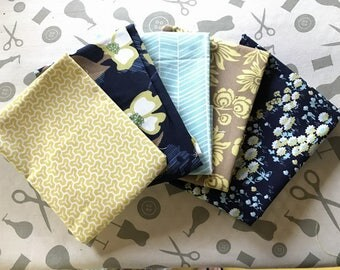 Lot 5 Coupons Collection Modern Meadow 22 x 30 cm
