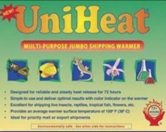72-hour Heat Pack - Add to your shipment for cold climates, Fall /Winter Hoya shipments