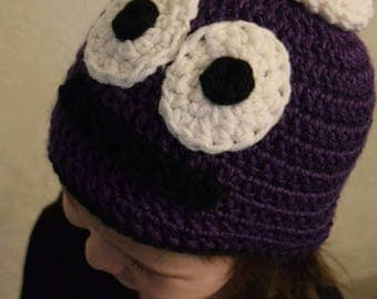 """Crochet """"Peep and the big wide world"""" Inspired hat"""