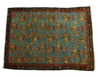 Persian Rug-Birjand Semi Antique