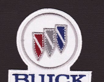Buick - motoring Iron on Sew on patch